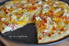 Life as a Lofthouse (Food Blog): Chicken Ranch Pizza