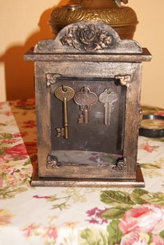 Old Looking storage for keys or jewelries ... SOLD