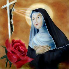 Santa Rita De Cascia, Prayer To St Rita, Oracion A Santa Rita, Sainte Rita, Tres Belle Photo, Catholic Beliefs, Novena Prayers, Blessed Mother, Aurora Sleeping Beauty