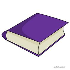 Free purple book clipart image with transparent background Book clip art Purple books Clip art