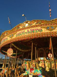 Carousel ride, The Southbank, London
