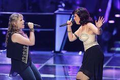 Holly Hunter vs Michelle Raitzin #TeamBlake #Battles