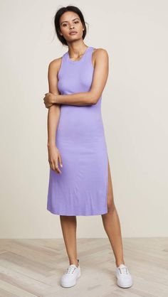Cotton Citizen The Melbourne Tank Dress. A soft Cotton Citizen dress in a minimalist profile feels ready for any occasion from casual get-togethers to nights out. Explore its potential at will with blazers and jean jackets