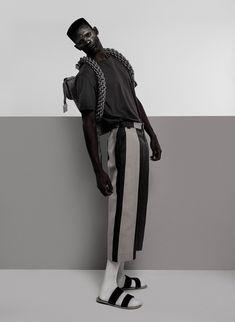 Textured Minimalism in Lukhanyo Mdingi's Fall/Winter 2015 Menswear Collection