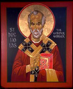 St. Nicholas for St. Nicholas Omaha by icxcpainter, via Flickr