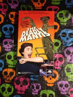 The Deadly Mantis VHS 1957/1993 Craig by HECTORSVINTAGEVAULT