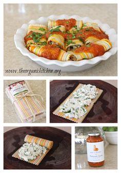 Lasagna Rolls with C