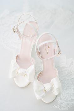 Bride Shoes Kate Spade White Bow Satin Wedding Shoes - for women sites Kate Spade Wedding Shoes, Satin Wedding Shoes, Kate Spade Bridal, Wedding Shoes Bride, Bride Shoes, Bow Wedding, Satin Shoes, Wedding Bells, Wedding Details