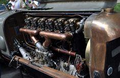 Botafogo Special 1917 race car. Fiat A12, 21.7 liter engine