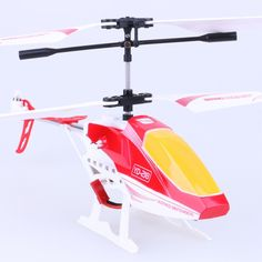 ATTOP YD218 2.4G 3.5CH RC Helicopte r- Red