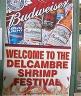 Delcambre Shrimp Festival ~ 3rd week of August