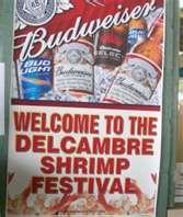 Delcambre Shrimp Festival ~ 3rd week of August