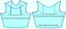 El Rincon De Celestecielo: Escote barco, ojal o bandeja Textiles, Workout, Sewing, Patterns, Tips, Blog, Fashion, Ideas, Frases