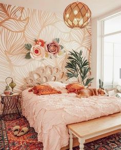 Create your Dream Bohemian Bedroom! - The Style Index - Create your Dream Bohemian Bedroom! – The Style Index You are in the right place about plant decor - Bohemian Bedroom Decor, Boho Room, Bohemian Apartment Decor, Eclectic Bedroom Decor, Hippie Apartment, Bohemian Decorating, Dream Rooms, Dream Bedroom, Master Bedroom