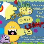 Chip, Chip, CHOMP! is a fun, fast-paced game that builds multiplication fact fluency as players compete to have the most chips at the end of the ga...