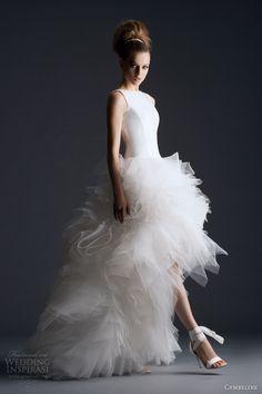 cymbeline bridal 2014 haora sleeveless wedding dress