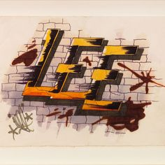 An exhibition of the iconic New York graffiti artist of the Lee Quiñones: Language Barriers, opens with a reception James Fuentes in the Lower East Side. Hip Hop Movies, Egyptian Temple, New York Graffiti, Mexican Revolution, Puerto Rican Culture, New Mexican, Lower East Side, Wild Style, First Humans