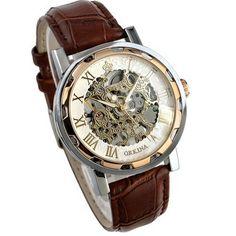 $8.02 (Buy here: https://alitems.com/g/1e8d114494ebda23ff8b16525dc3e8/?i=5&ulp=https%3A%2F%2Fwww.aliexpress.com%2Fitem%2FParadise-2016-Hotsale-Fashion-Luxury-Mans-Leather-Band-Stainless-Skeleton-Mechanical-Wrist-Watch-Free-Shipping-Apr12%2F32651148218.html ) Paradise 2016 Hotsale Fashion Luxury Mans Leather Band Stainless Skeleton Mechanical Wrist Watch Free Shipping Apr12 for just $8.02