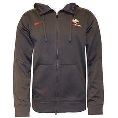 Grey Nike South Alabama Logo Full Zip Hoodie $69.95