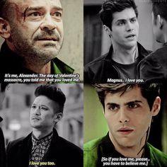 #Shadowhunters 2x10|2x12 -  #AlecLightwood #MagnusBane