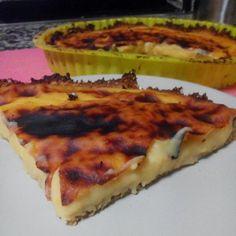 Saudável como um pêro... sem desespero!: Tarte de pastel de nata