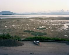 Scott Conarroe  BMW, Point Bridget, Alaska, 2010   From the By Land, By Sea series  Website - ScottConarroe.com