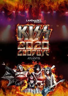 LIVE STREAM - KISS2020GoodBye at LIVE STREAM on Dec 31 Kiss Photo, Kiss Band, Pay Per View, Happy New Year Everyone, Star Children, Concert Tickets, Classic Rock, Atlantis, Dubai