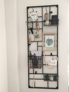 Wall Storage Mad About The House, Diy Shops, Living Room Colors, Wall Storage, Fashion Room, Interior Design Living Room, Decoration, Room Inspiration, Home Crafts