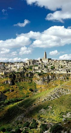 Sextantio Le Grotte in Matera, Italy.