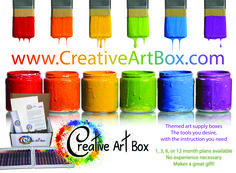 Monthly art supplies delivered to your door! Art box subscriptions, monthly art box