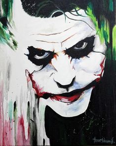 Discover Painting by Selva Murugan on Touchtalent. Touchtalent is premier online community of creative individuals helping creators like Selva Murugan in getting global visibility. Der Joker, Heath Ledger Joker, Joker Art, Joker And Harley Quinn, Joker Images, Joker Pics, Joker Hd Wallpaper, Joker Wallpapers, Joker Kunst