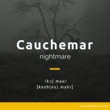 Cauchemar    French
