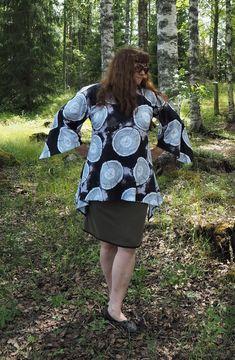 Vaateviidakko: Liehukepaitoja Diy Shirt, Diy Clothes, Cold Shoulder Dress, Handmade, Shirts, Dresses, Fashion, Diy Clothing, Vestidos