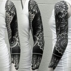 55 Superb Sleeve Tattoos Ideas for Men and Women - Various Designs