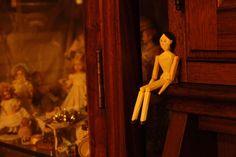 オランダ人形さん(ペグドール) : jour et nuit