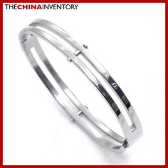 NEW BOYS 8MM STAINLESS STEEL BANGLE DUAL RING B2716A Pandora Like Bracelets, Trendy Jewelry, Bangles, Design Inspiration, Wedding Rings, Stainless Steel, Engagement Rings, Silver, Diamonds
