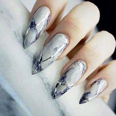 So fresh and neat nail art design