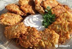 Fokhagymás cukkinifasírt Sin Gluten, Great Recipes, Dinner Recipes, Hungarian Cuisine, Torte Cake, Russian Recipes, What To Cook, Vegetable Recipes, Tapas