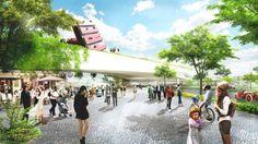 Urban Center Design: Urban Green Living Design : Appealing European City Landscape With Nice Architecture Design