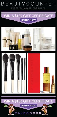 Chance to win a $100 Beautycounter Skincare Gift Certificate! 4/18 #Sweepstakes
