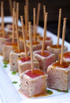 Wasabi Glazed-Seared Ahi Tuna Recipe – weekend recipes
