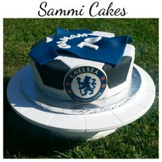 Chelsea soccer birthday cake #SammiCakes
