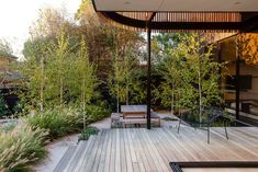 Our New Woodland Patio With Article Outdoor Furniture - Deuce Cities Henhouse Australian Architecture, Australian Homes, Australian Garden, Decks, Most Beautiful Gardens, Architecture Awards, Exterior, Outdoor Living, Outdoor Decor