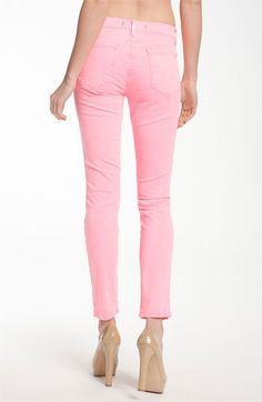 Have you bought into the colored denim trend yet? This pair by J Brand is a great one to start with!