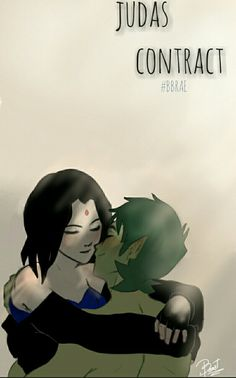 Beast boy and Raven 〰 judas contract 〰