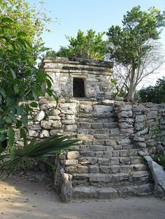 Mayan Ruins, Playa Del Carmen, Mexico. One of the most beautiful places I've ever been!