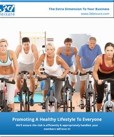 Promoting A Healthy Lifestyle To Everyone | 3d Leisure #corporatefitness