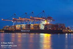 Beautiful ship from Hapag Lloyd
