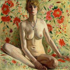 La femme blonde (Femme blonde sur un fond de châle espagnol) by Albert Marquet on Curiator – http://crtr.co/1luv