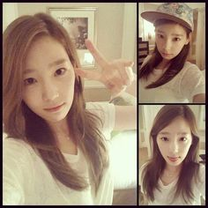 fd3576876b69 Girls  Generation member Taeyeon revealed her no makeup face online and  gained much attention. Girls  Generation member Taeyeon revealed her no  makeup face ...